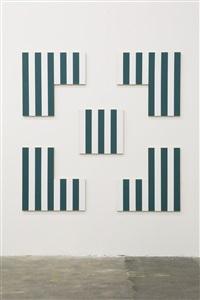 « photo-souvenir » : carré - encadré - 8/9, travail situé by daniel buren