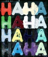 ha, ha by mel bochner