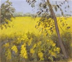 field of gold i by jane freilicher