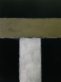 standing grey by sean scully