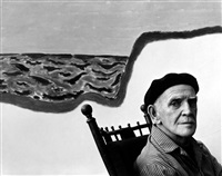 milton avery by arnold newman