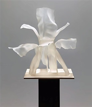 untitled (flower petals) by frank gehry