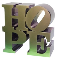 eternal hope by robert indiana