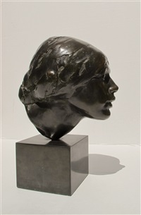 nuska, portrait of a girl by isamu noguchi