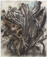 dying thistle by jim dine