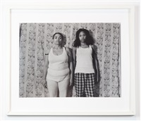 momme portrait series (floral comforter) by latoya ruby frazier