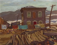 house at baie-saint-paul by alexander young jackson