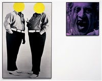 cruelty and cowardice (with malice) by john baldessari