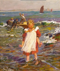 wading ashore by harold harvey