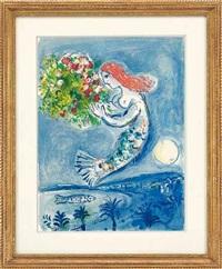 engelsbucht by marc chagall
