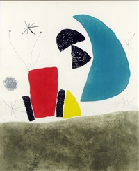 plate viii from esprui - miró by joan miró