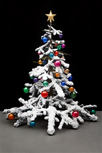 fraught times, for eleven months of the year it's an artwork and in december it's christmas, (march) by philippe parreno