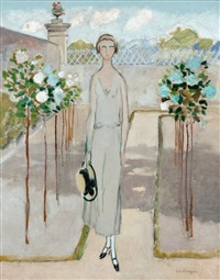 le jardin (le louvard) by kees van dongen