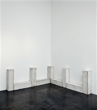 third piece of nine by carl andre
