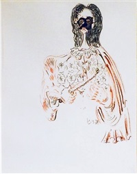 untitled (head) by george condo