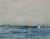 morning off valencia, spain by childe hassam