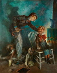 the ventriloquist by everett shinn