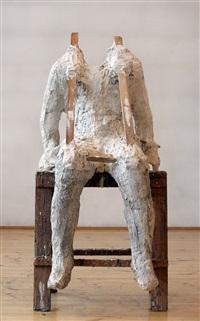 plaster body 6 by magdalena abakanowicz