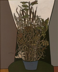 dry plants by robert gwathmey