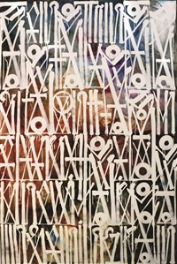 sometimes eye can't remember what eye wrote by retna