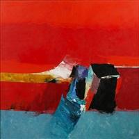 red landscape by donald hamilton fraser