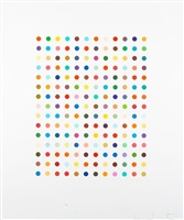 ethidium bromide aqueous solution by damien hirst