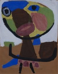 'personage 1951' by karel appel