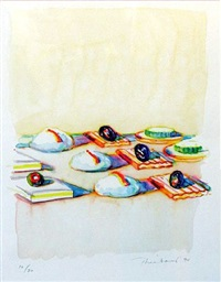 appetizers by wayne thiebaud
