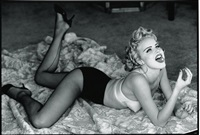 eva herzigova, guess, new york by ellen von unwerth