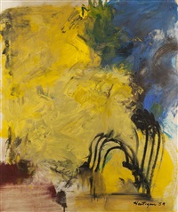 abstraction by grace hartigan