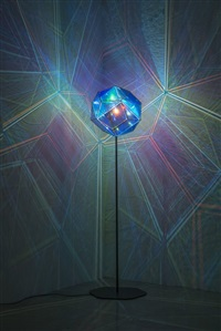 blue lamp by olafur eliasson