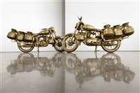 two mechanized cows by subodh gupta