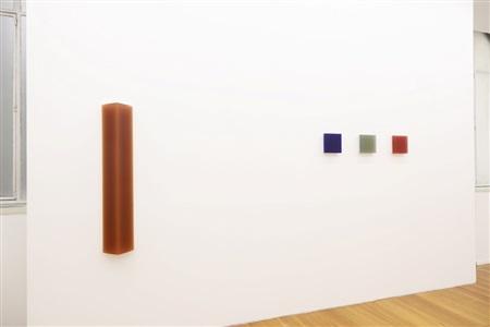 exhibition view, galerie xippas, paris, 2013 by herbert hamak