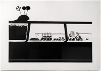 candy counter (state i) by wayne thiebaud