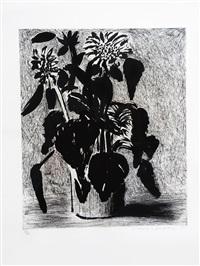 sunflower ii by david hockney