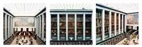 deichmanske bibliothek i-ii-ii by candida höfer
