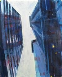 wall street iii, looking up by david kapp