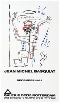 untitled delta by jean-michel basquiat