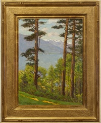 river through the pines by charles warren eaton