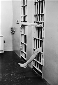 solitary confinement, model prison of leesberg, new jersey by henri cartier-bresson
