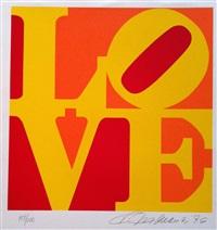 love (red, orange & yellow) by robert indiana