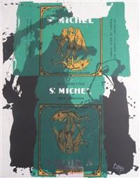 st. michael iii by robert motherwell