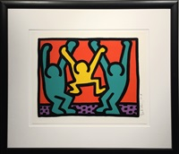 pop shop 1 (b) by keith haring