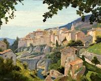 tourettes-sur-loup by anthony thieme