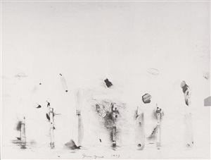 untitled (tools) by jim dine