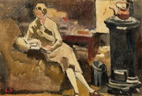 a quiet moment by louis valtat