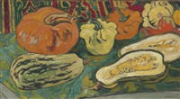 nature morte au poitron by louis valtat