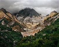 carrara marble quarries #20, carrara, italy by edward burtynsky