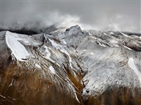 mount edziza provincial park #1, northern british columbia, canada by edward burtynsky