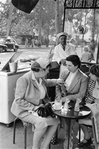 ile de france, paris by henri cartier-bresson